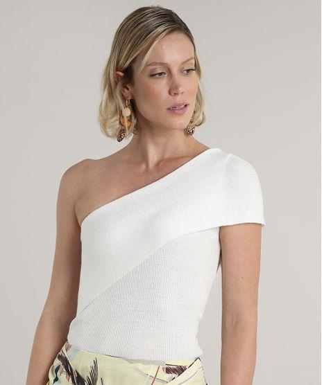 Blusa-Feminina-Um-Ombro-So-em-Trico-com-Sobreposicao-Off-White-9691942-Off_White_1