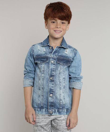 Jaqueta-Jeans-Infantil-com-Rasgos-Azul-Medio-9660404-Azul_Medio_1