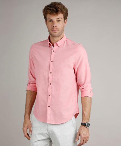 Camisa-Masculina-Comfort-Manga-Longa-Rosa-9523389-Rosa_1