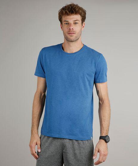 Camiseta-Masculina-Basica-Comfort-Fit-Manga-Curta-Gola-Careca-Azul-9602030-Azul_1
