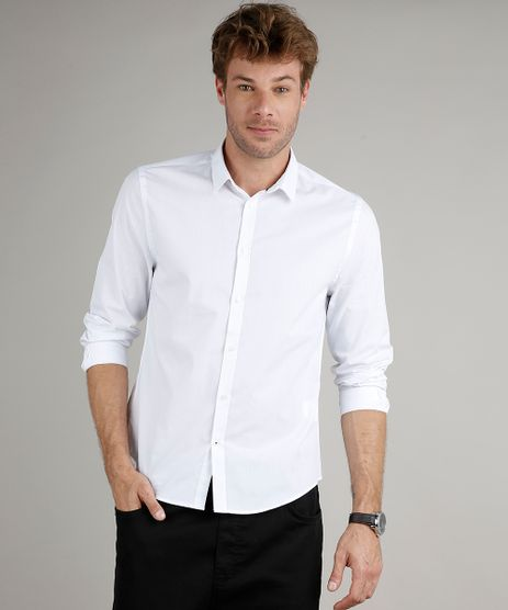 Camisa-Masculina-Slim-Fit-Basica-Manga-Longa-Branca-9633530-Branco_1
