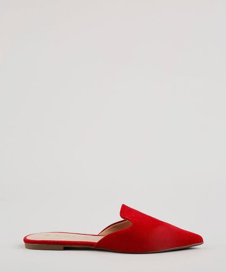 Mule-Feminino-Bico-Fino-Via-Uno--Vermelho-9792814-Vermelho_1