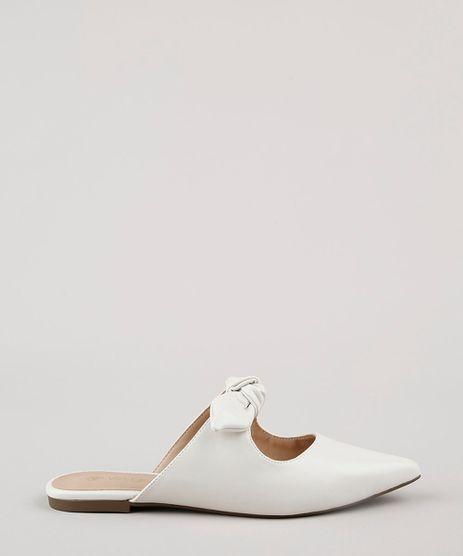 Mule-Feminino-Bico-Fino-Via-Uno-com-Laco-Off-White-9815606-Off_White_1