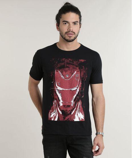 Camiseta-Masculina-Homem-de-Ferro-Manga-Curta-Decote-Redondo-Preta-9559926-Preto_1