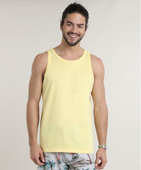 Regata-Masculina-Basica--Amarelo-Claro-8473233-Amarelo_Claro_1