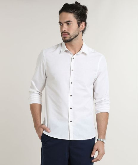 Camisa-Masculina-Comfort-Fit-Manga-Longa-Off-White-9533302-Off_White_1