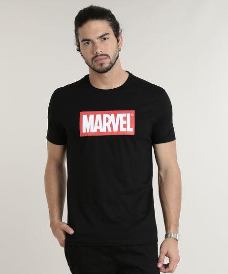 Camiseta-Masculina-Marvel-Lista-de-Filmes-Manga-Curta-Gola-Careca-Preta-9781570-Preto_1