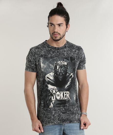 Camiseta-Masculina-Coringa-Marmorizada-Manga-Curta-Gola-Careca-Chumbo-9714262-Chumbo_1