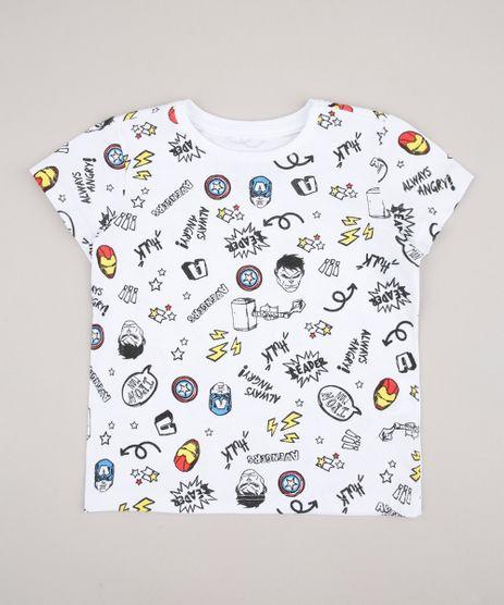 Camiseta-Infantil-Os-Vingadores-Estampada-Manga-Curta-Off-White-9715168-Off_White_1