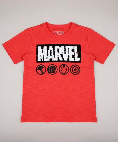Camiseta-Infantil-Marvel-com-Paete-Dupla-Face-Manga-Curta-Vermelha-9690927-Vermelho_1