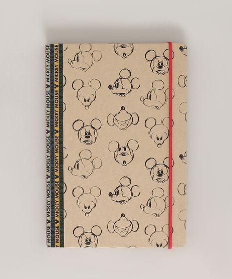 Caderno-Mickey-Estampado-Capa-Dura-Sem-Pauta-205-cm-x-14-cm-Bege-9772758-Bege_1