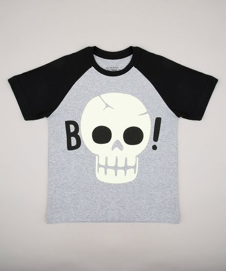 Camiseta-Infantil-Raglan-Caveira-Manga-Curta-Gola-Careca-Cinza-Mescla-9706614-Cinza_Mescla_1