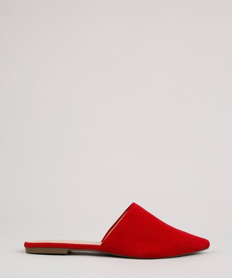 Mule-Feminino-Via-Uno-Bico-Fino-Vermelho-9816919-Vermelho_1