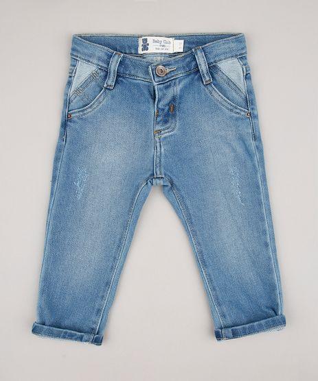 Calca-Jeans-Infantil-Skinny-em-Moletom-com-Bolsos-Azul-Claro-9676965-Azul_Claro_1