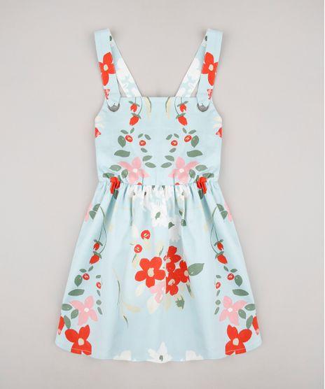 Vestido-Infantil-Estampado-Floral-Alcas-com-Ilhos-Azul-Claro-9649453-Azul_Claro_1
