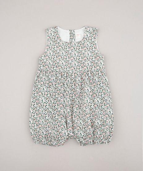 Macaquinho-Infantil-Estampado-Floral-Sem-Manga-Branco-9610842-Branco_1