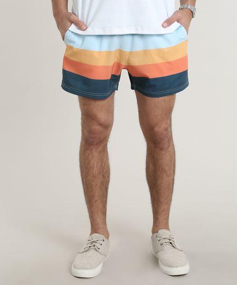 Short-Masculino-Listrado-com-Bolsos-Azul-Claro-9754294-Azul_Claro_1