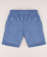 Bermuda-Infantil-em-Moletom-com-Bolso--Azul-9548922-Azul_2