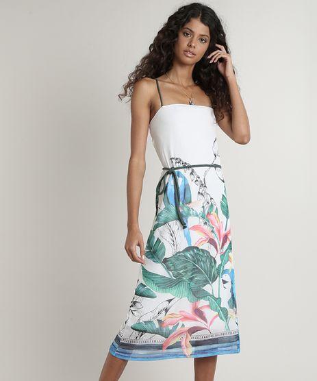 Vestido-Feminino-em-Tule-Estampado-de-Tucano-Alca-Fina-com-Cinto-Off-White-9706146-Off_White_1