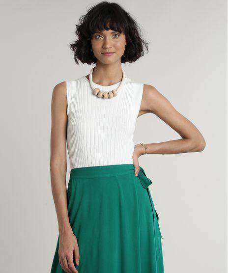 Regata-Feminina-Canelada-em-Trico-Decote-Redondo-Off-White-9697828-Off_White_1
