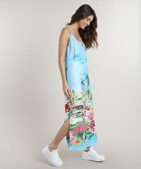 Vestido-Feminino-Midi-Estampado-Tropical-Alcas-Finas-Azul-Claro-9672354-Azul_Claro_1