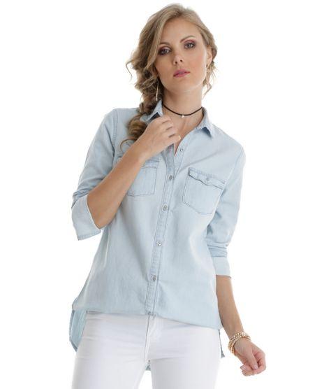 fcbc6ee16 Camisa-Longa-Jeans-Azul-Claro-8557358-Azul Claro 1