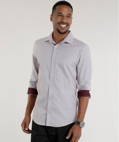 Camisa-Slim-Estampada-Vinho-8456789-Vinho_1