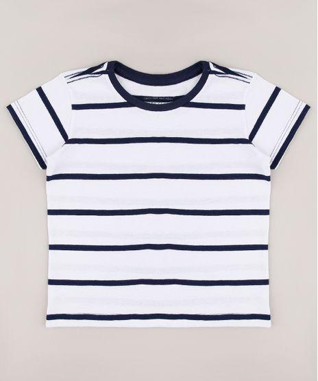 Camiseta-Infantil-Listrada-Manga-Curta-Branca-9302991-Branco_1