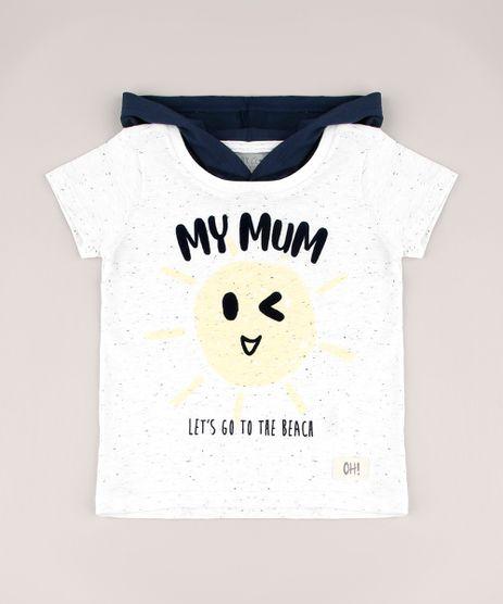 Camiseta-Infantil-Sol--My-Mum--com-Capuz-Manga-Curta-Off-White-9765964-Off_White_1