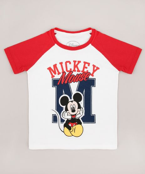 Camiseta-Infantil-Mickey-Raglan-Manga-Curta-Off-White-9730366-Off_White_1