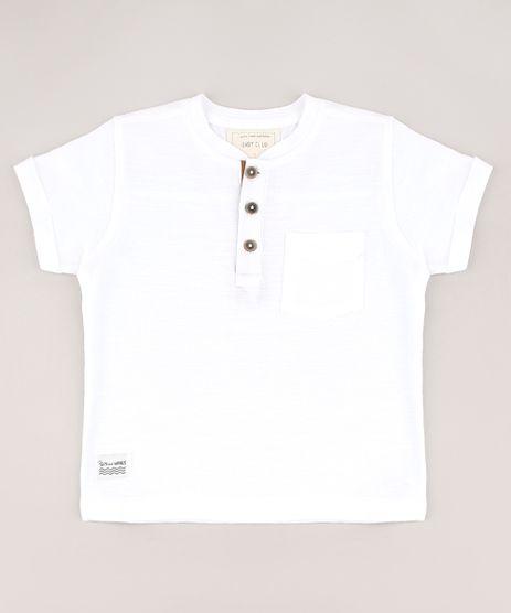 Camiseta-Infantil-com-Bolso-Manga-Curta-Gola-Portuguesa-Off-White-9607876-Off_White_1