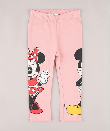 Calca-Legging-Infantil-Mickey-e-Minnie-Rosa-9742136-Rosa_1