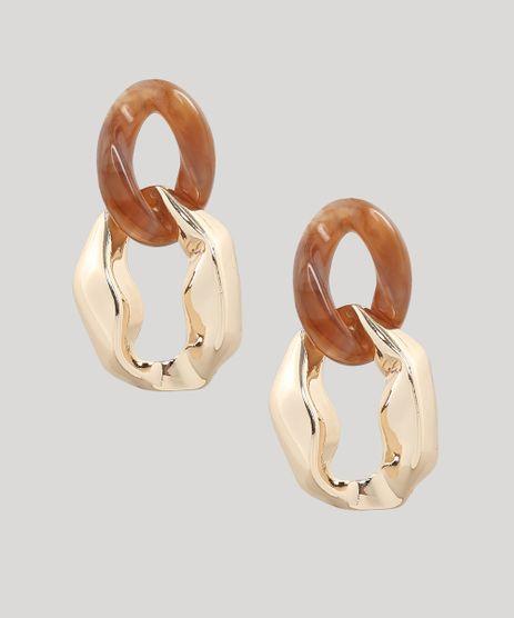 Brinco-Feminino-Corrente-Dourado-9650009-Dourado_1