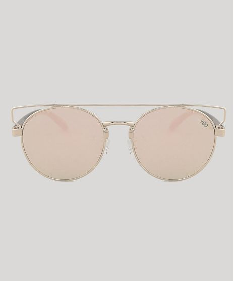 Oculos-de-Sol-Redondo-Feminino-Yessica-Dourado-9791806-Dourado_1