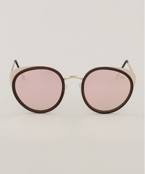 Oculos-de-Sol-Redondo-Feminino-Yessica-Dourado-9791801-Dourado_1