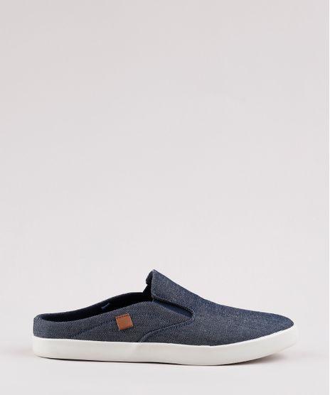 Tenis-Jeans-Mule-Masculino-Slip-On-Azul-Escuro-9529415-Azul_Escuro_1