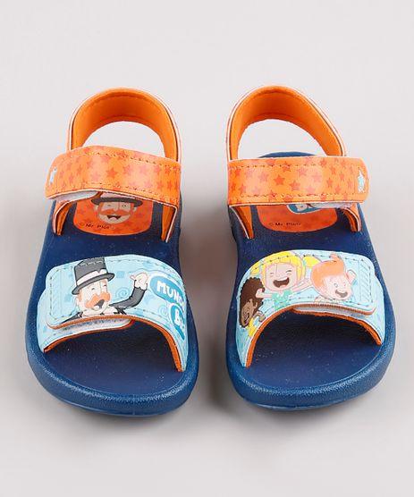 Sandalia-Papete-Infantil-Mundo-Bita-com-Velcro-Azul-Marinho-9782440-Azul_Marinho_1