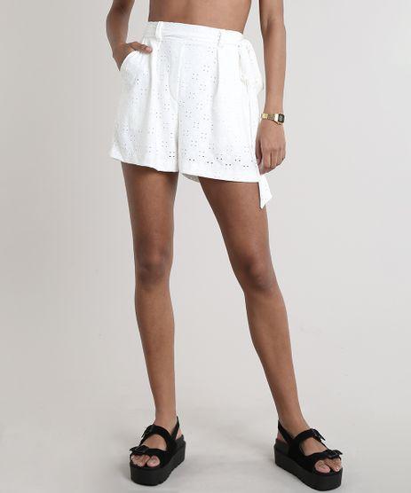 Short-Feminino-Clochard-em-Laise-com-Faixa-para-Amarrar-Off-White-9704598-Off_White_1