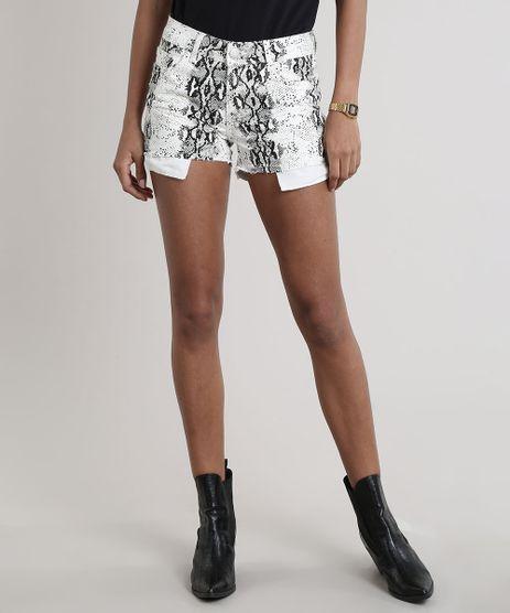 Short-de-Sarja-Feminino-Estampado-Animal-Print-Cobra-Barra-a-Fio-Off-White-9739520-Off_White_1