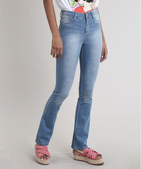 Calca-Jeans-Feminina-Sawary-Flare-Push-Up-Azul-Medio-9811689-Azul_Medio_1
