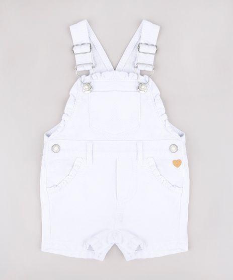 Jardineira-Infantil-Texturizada-com-Babados-Branca-9683536-Branco_1