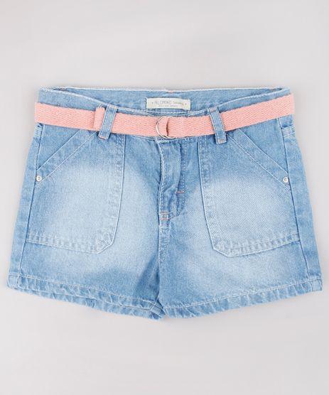 Short-Jeans-Infantil-com-Cinto-Azul-Claro-9748597-Azul_Claro_1