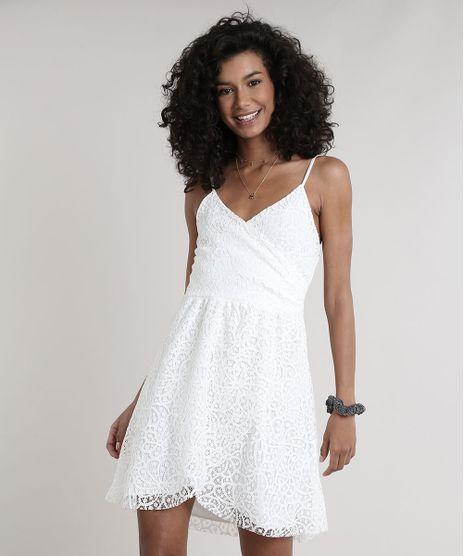 Vestido-Feminino-em-Renda-Transpassado-Alcas-Finas-Decote-V-Off-White-9704871-Off_White_1