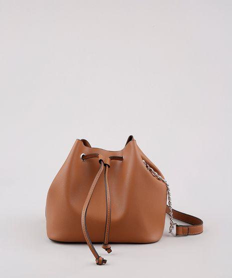 Bolsa-Feminina-Bucket-Media-Transversal-Alca-com-Corrente-Caramelo-9632381-Caramelo_1