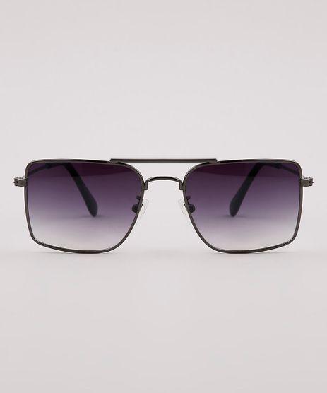 Oculos-de-Sol-Quadrado-Infantil-Menino-Oneself--Grafite-9825801-Grafite_1