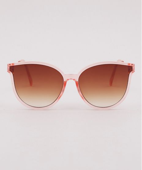 Oculos-de-Sol-Redondo-Infantil-Menina-Oneself--Rose-9825813-Rose_1
