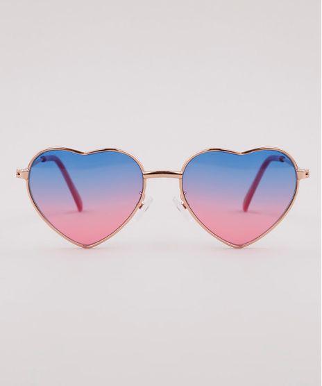 Oculos-de-Sol-Coracao-Infantil-Menina-Oneself--Rose-9825816-Rose_1