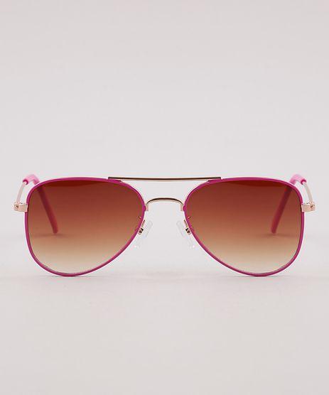 Oculos-de-Sol-Aviador-Infantil-Menina-Oneself--Rosa-9825794-Rosa_1
