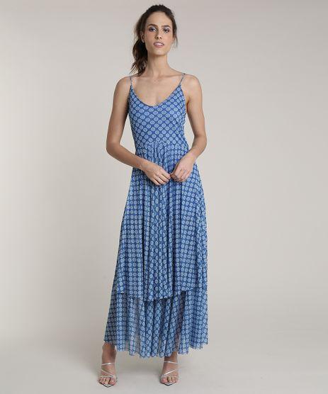 Vestido-Feminino-Longo-Mindset-Estampado-Floral-em-Camadas-Alcas-Finas-Azul-9833495-Azul_1