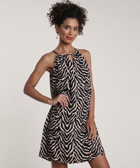 Vestido-Feminino-Estampado-Animal-Print-Decote-Redondo-Kaki-9644918-Kaki_1